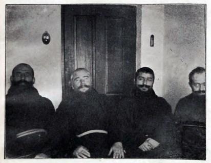 Ченці згромадження капуцинів на Замарстинові, 1905 рік