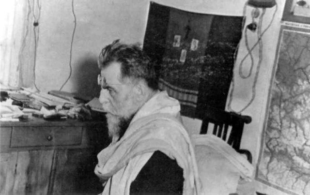Йосип Сліпий на каторзі . Фото з сайту http://www.gulag-museum.org.ua/