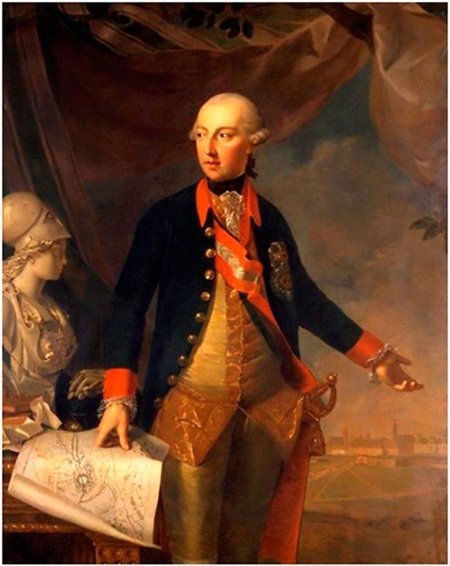 Йосип II (13 березня 1741 — 20 лютого 1790) — король Німеччини з 27 березня 1764, обраний імператором Священної Римської імперії 18 серпня 1765 року, старший син Марії Терезії. Самостійно правив, починаючи зі смерті матері 1780 року. 29 листопада 1780 року успадкував від неї володіння Габсбургів — ерцгерцогство Австрійське, королівства Богемське та Угорське, Королівство Галичини та Володимирії.
