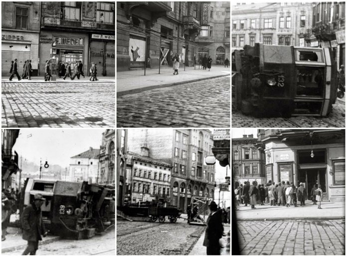 Коли у місті перекидали трамваї, або