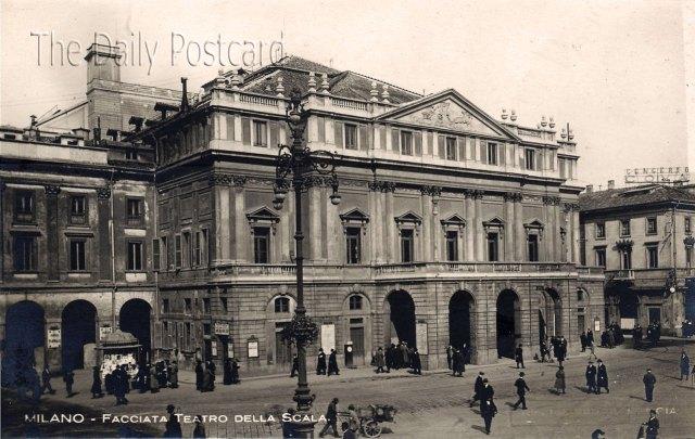 Міланський театр «Ла Скала» - недосяжна мрія багатьох співаків – став для Є. Зарицької рідним. Фото з сайту thelastverista.com