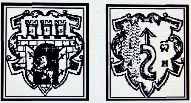 Герб Львова і «змійка» Івана Федорова в «Апостолі» 1574 року