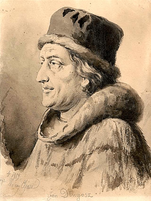 Польський хроніст Ян Длугош (1415 - 1480). Фото з https://uk.wikipedia.org