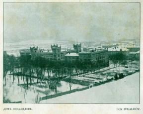 Дім Інвалідів за часів окупації Львова російськими військами. Фото 1915 року