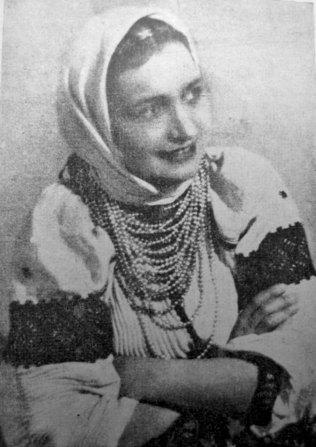 Марічка Сафіян у ролі Марійки
