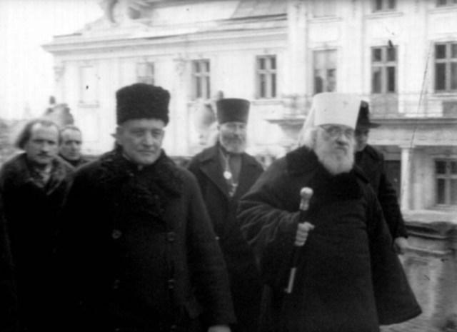 Прибуття екзарха України Іоана до храму Св. Юра. 9 березня 1946 року