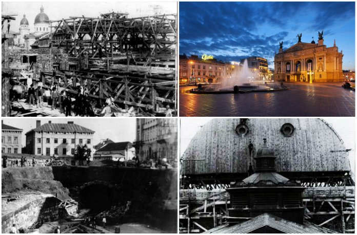 Як у Львові місце під Оперний театр вибирали