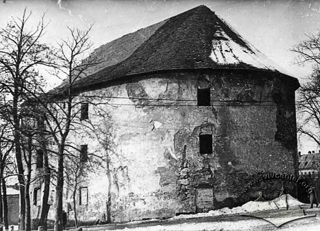 Порохова вежа, фото 1950–1955 рр.