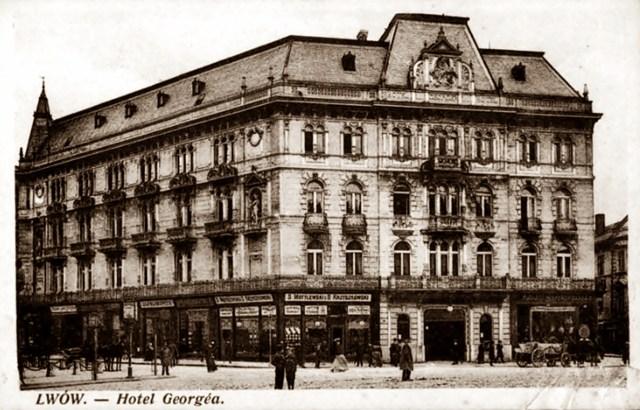 """Готель """"Жорж"""", фото 1912 року"""