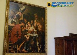 У Золочівському замку представлена картина одного з найдостойніших учнів Рубенса
