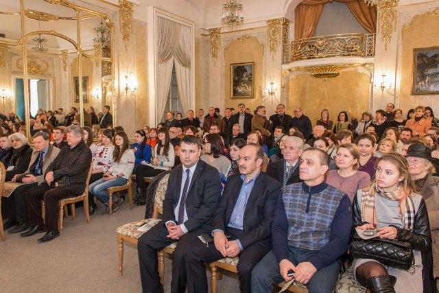 Гості презентації календаря «Мандрівка Львовом з Іваном Франком»