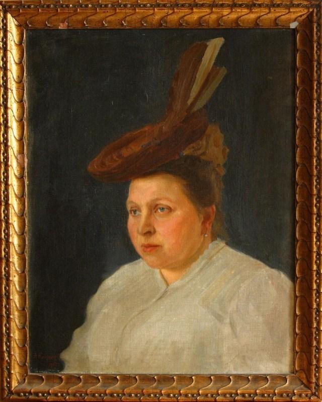 Марія Грушевська. Художник Фотій Красицький, 1907