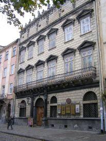 Палац Корнянкта, в котрому розміщувався Національний музей імені короля Яна III. Сучасне фото