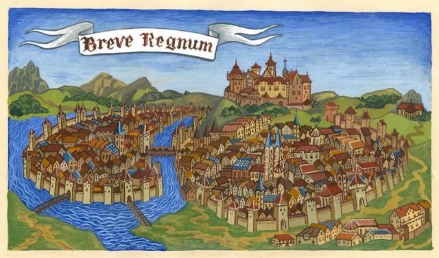 """Ілюстрація до альбому """"Breve Regnum"""". Фото з http://www.kings-and-beggars.com.ua"""