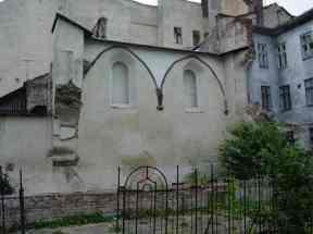 """Місце, де була розташована синагога """"Золота Роза"""". Сучасне фото"""