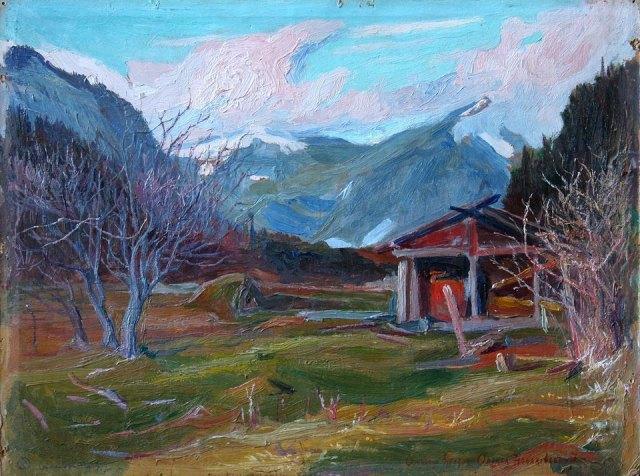 Олекса Новаківський. Весняні мряки (Осмолода), 1909 р.