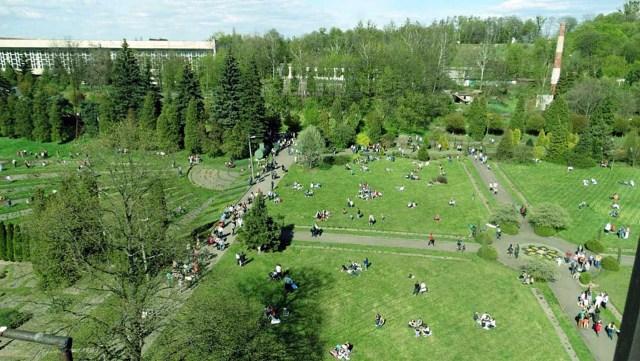Панорама ботанічного саду