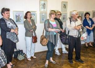 Відкриття виставки акварелей Наталії Доробан-Петрук