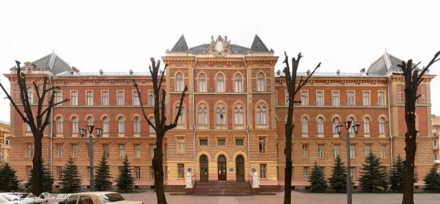 Палац Юстиції в Чернівцях - одна із останніх знаних робіт Ф.Сковрона