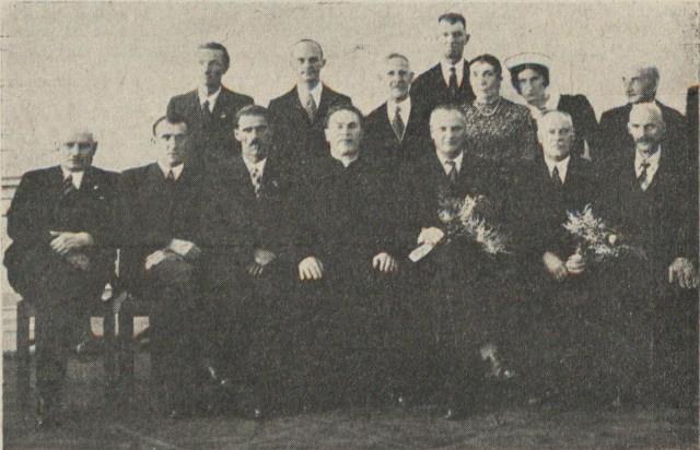 Викладачі Закладу. Фото до 1938 року