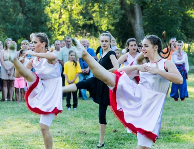 Виступ народного танцювального колективу «Первоцвіт». Фото: Ксенія Янко