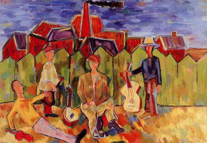 Генріх Штренг (Марк Влодарський), Вуличні музиканти 1937р.