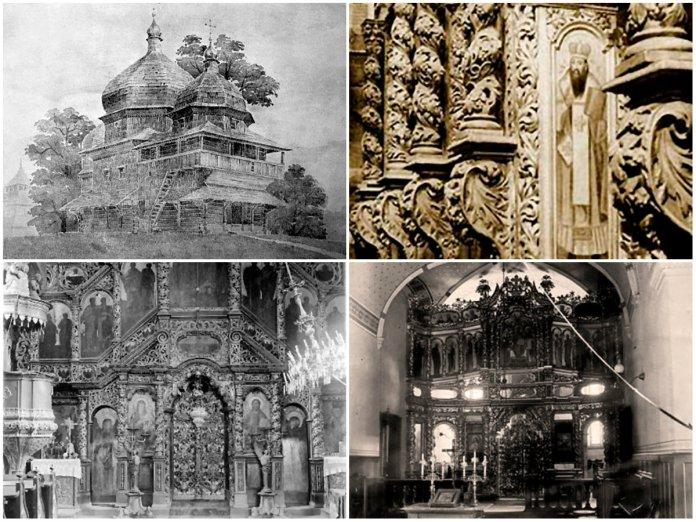 Історія іконостасу добрянського монастиря
