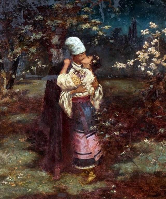 Поцілунок. 1910 р.
