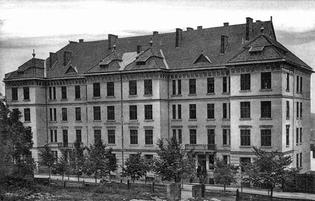 Бурса «Народного Дому» на вул. Курковій (нині вул. Лисенка, №14)