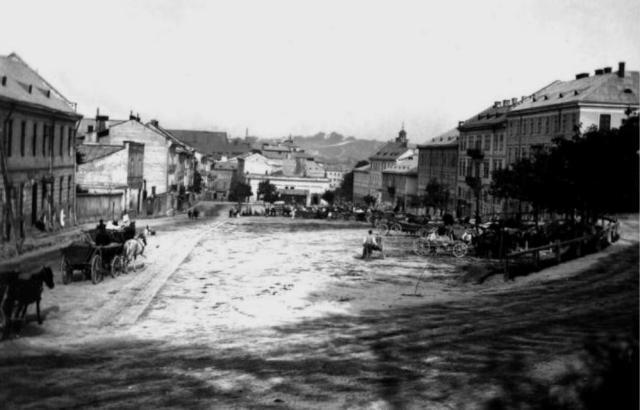 Площа Данила Галицького, початок ХХ ст.