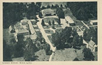 Любінь Великий. у правому нижньому куті курортна каплиця, 1925 р.