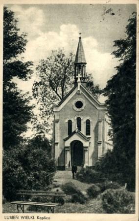Курортна каплиця у Любіні Великому, 1937 р.