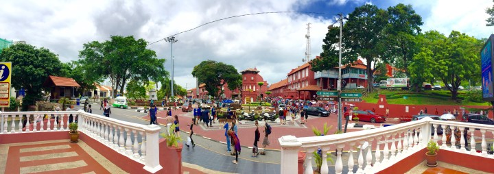 The Centre of Tourist Attraction in Melacca