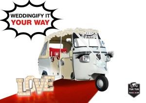 tuktuk wedding photobooth