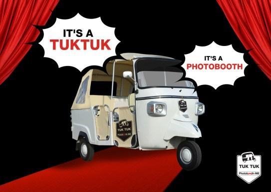 photo booth Dubai, tuk tuk photobooth, tuktuk Dubai, wedding photobooth