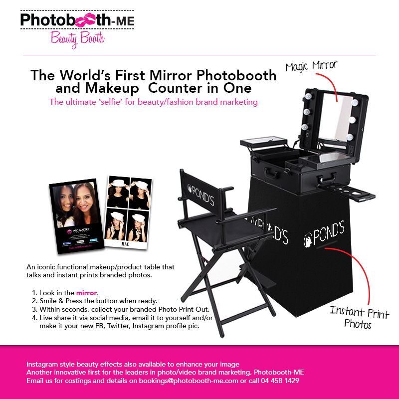 The World's First Beauty Booth photobooth
