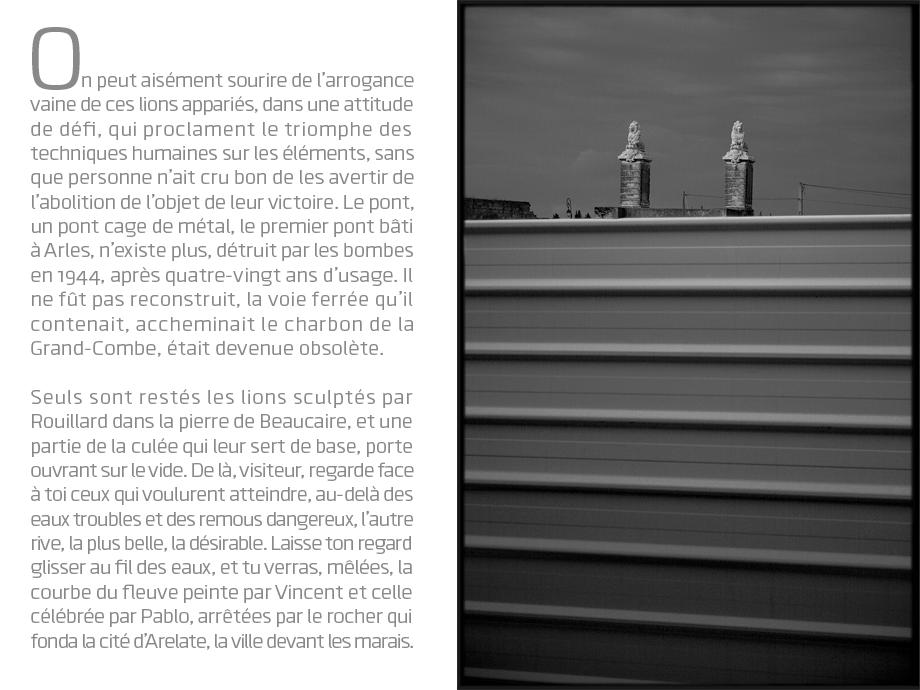 arles le pont de lunel © Michel Bourguet