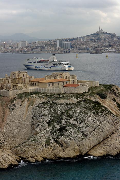 Hopital Caroline ile du Frioul, Marseille © Michel Bourguet