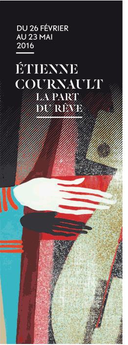affiche expo cournault-photo Michel Bourguet