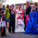 Zombie Family by Dayton Photographer Alex Sablan