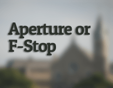 Aperture or F-Stop by Dayton Photographer Alex Sablan