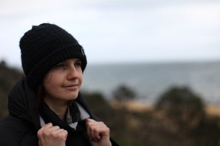 Profile shot Agnes Milowka