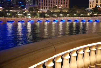 The Fountains at the Bellagio Hotel by Liz Sette