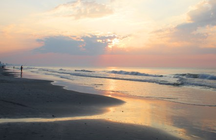 Myrtle Beach Sunrise by Debra Pruskowski