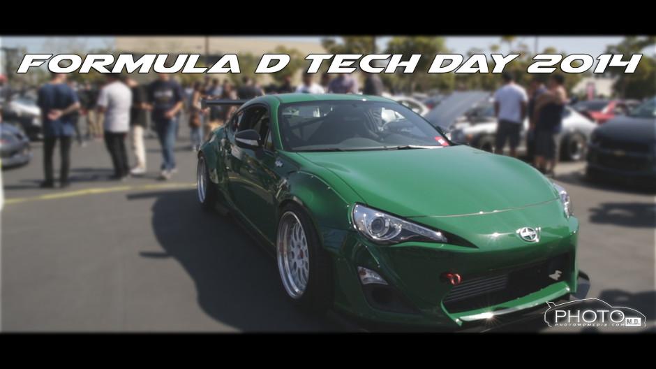 Formula D Tech Day 2014