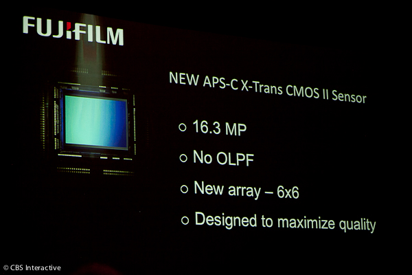Sensore Fujifilm APS-C X-Trans CMOS-II