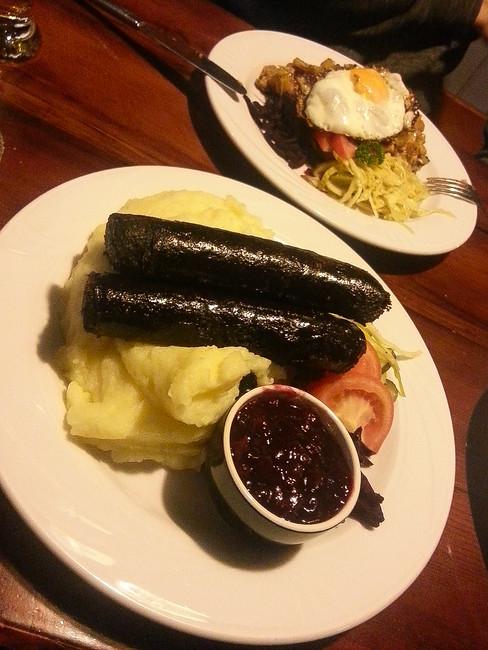 black sausage