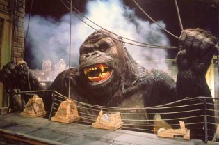 The old Kong attraction