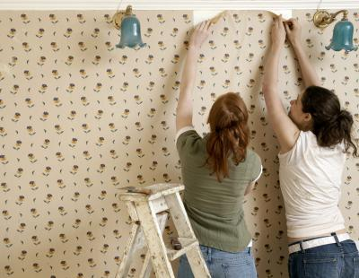 How to Remove Wallpaper Glue Residue | Home Guides | SF Gate