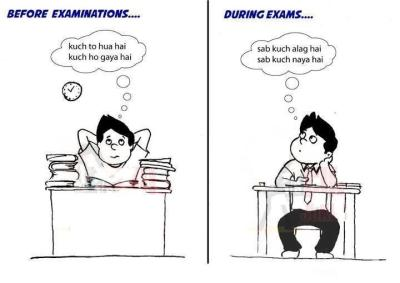 Before and During Exam - Funny Exam Pics : 13 pics